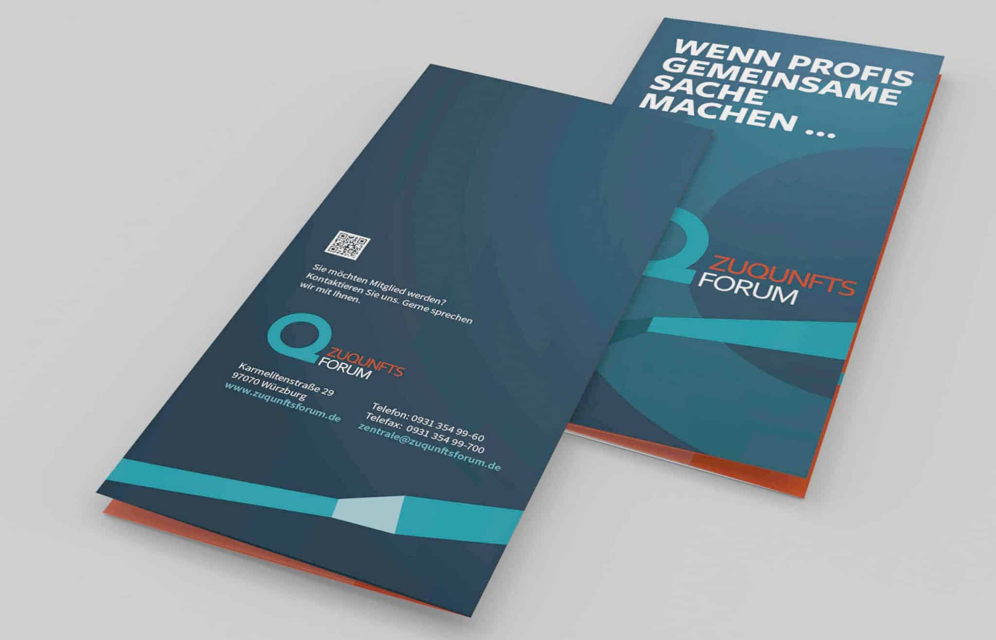 folder_zuqunftsforum Würzburg Corporate Design