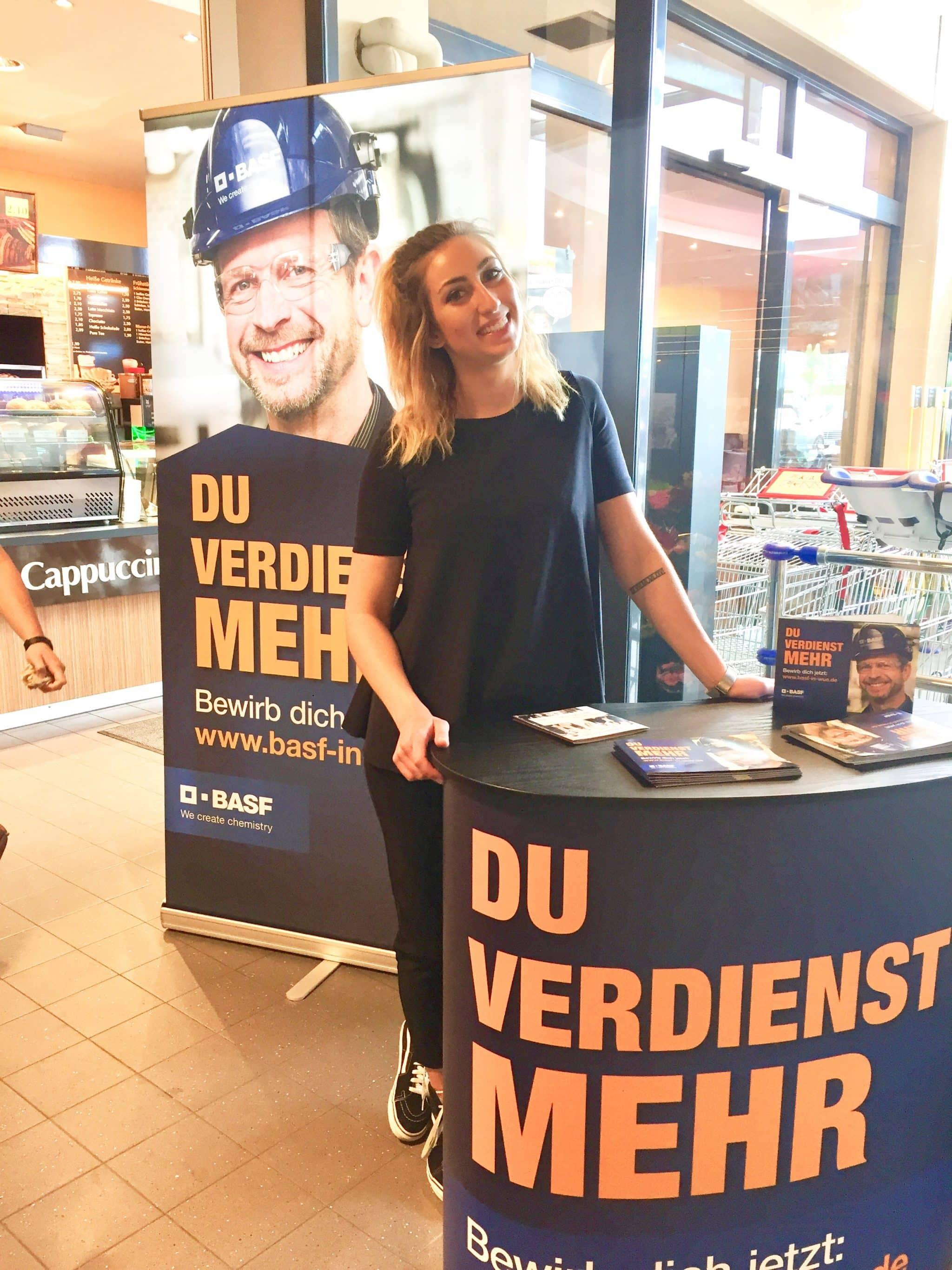 BASF Promotion Aktion Supermarkt