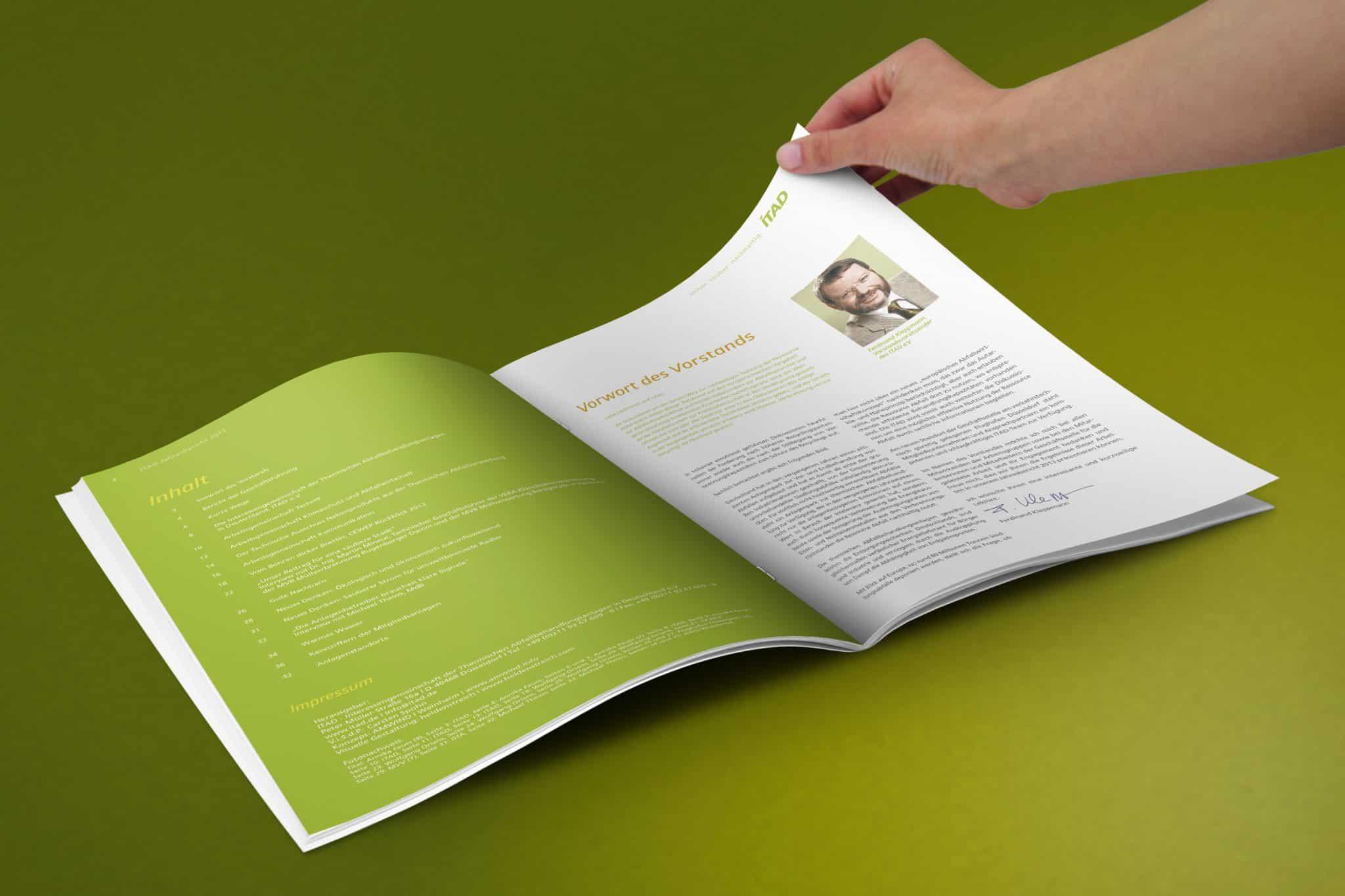Geschäftsbericht ITAD e.V. Seite 2