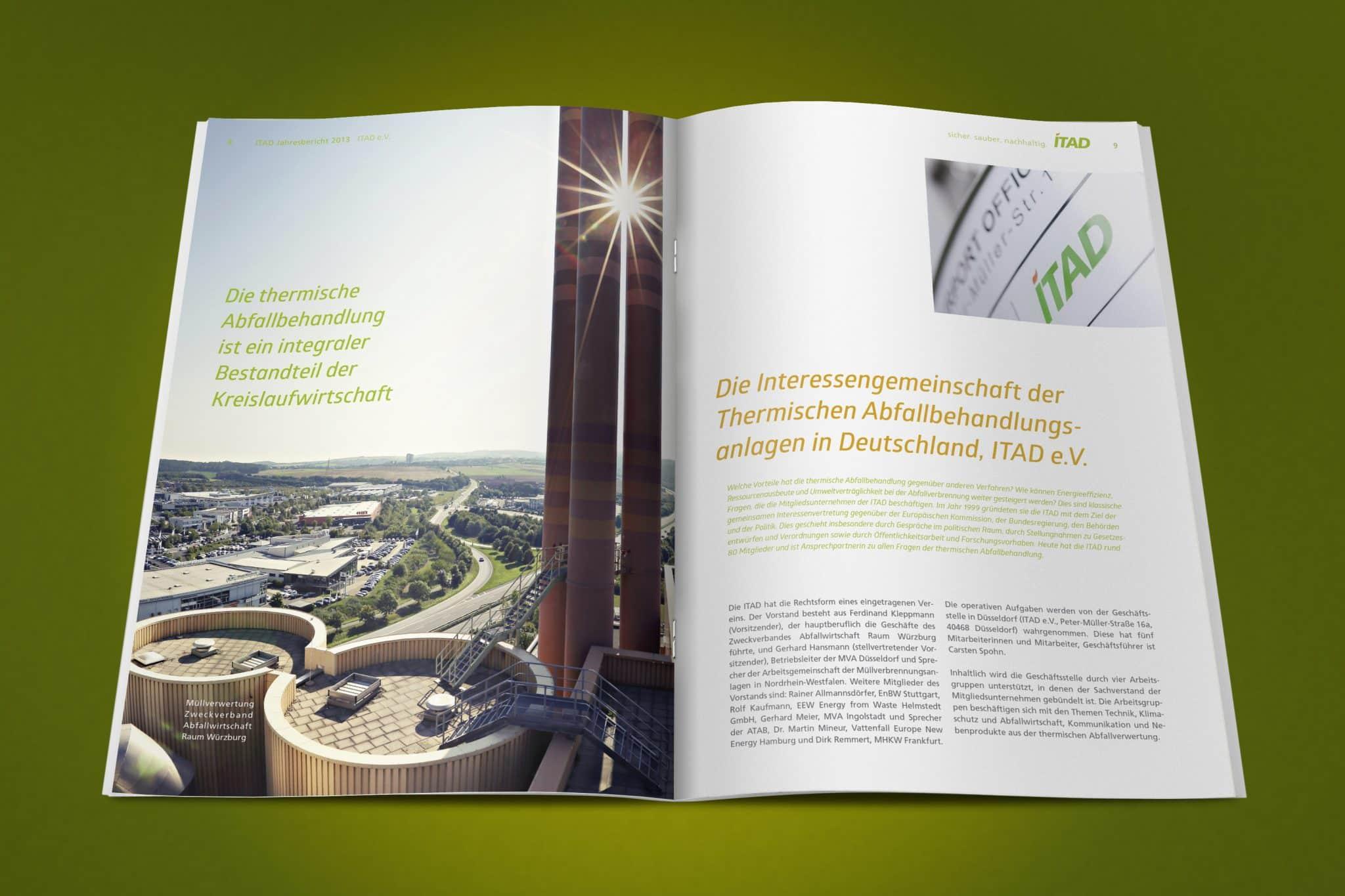 Geschäftsbericht ITAD e.V. Doppelseite 5