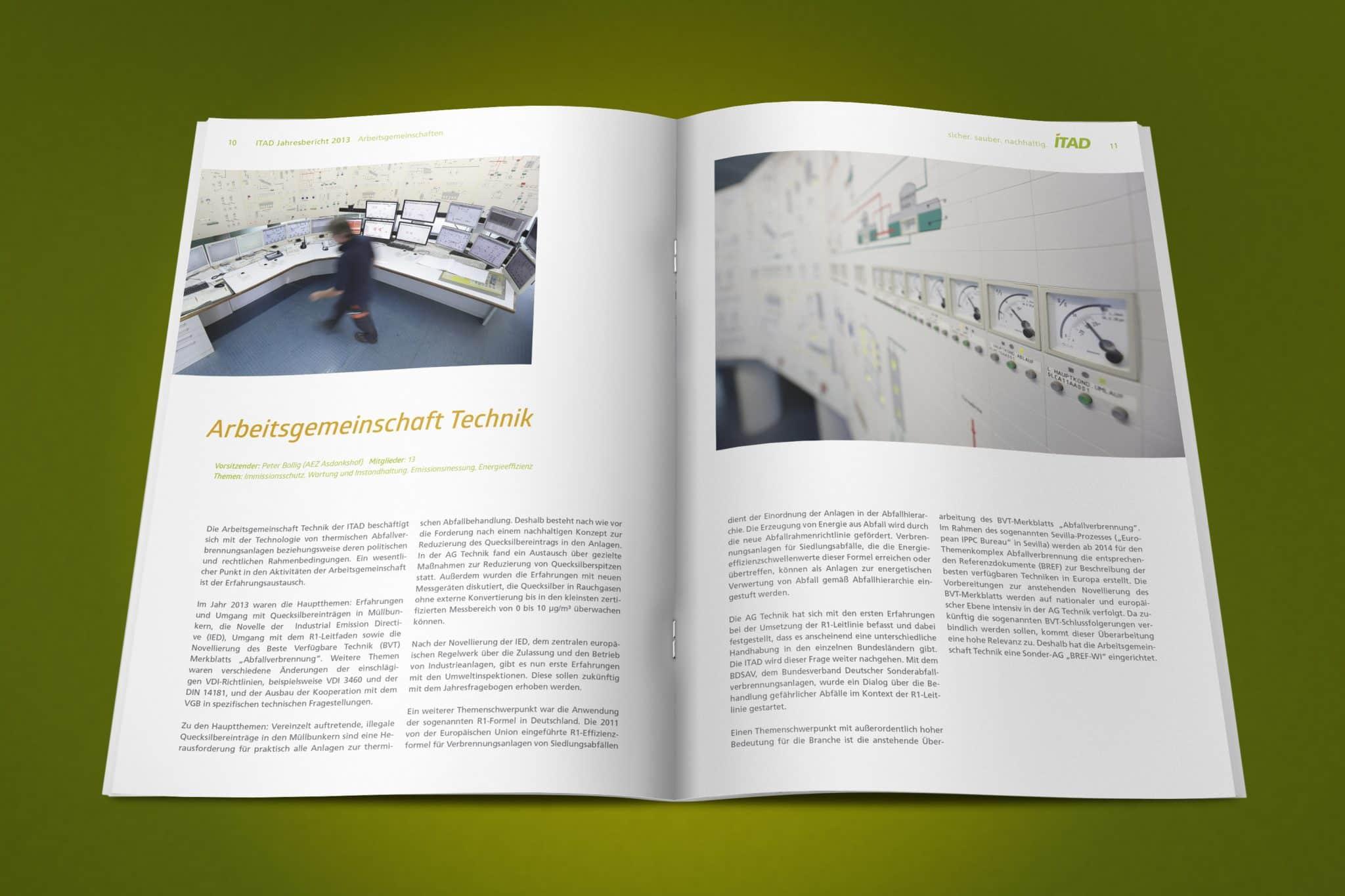 Geschäftsbericht ITAD e.V. Doppelseite 7