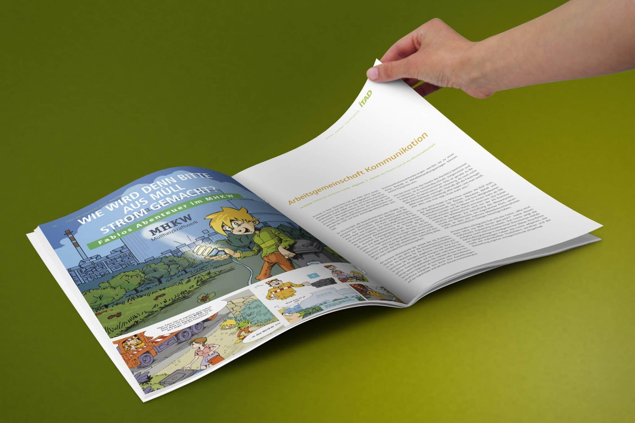 Geschäftsbericht ITAD e.V. Doppelseite 10
