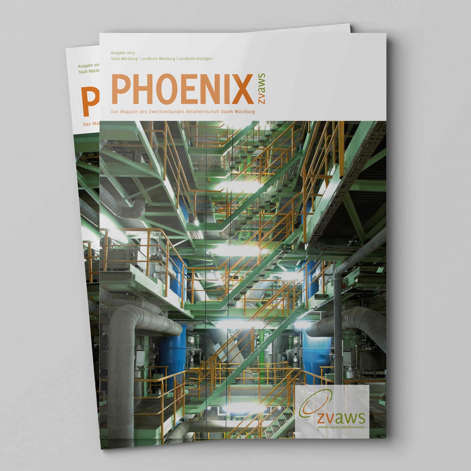 Magazin Phoenix des ZVAWS in Würzburg Titelseite