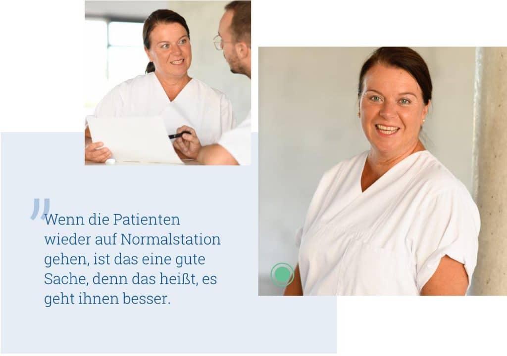 Uniklinik Würzburg Karriereseite Employer Branding Zitat 01 Pflege