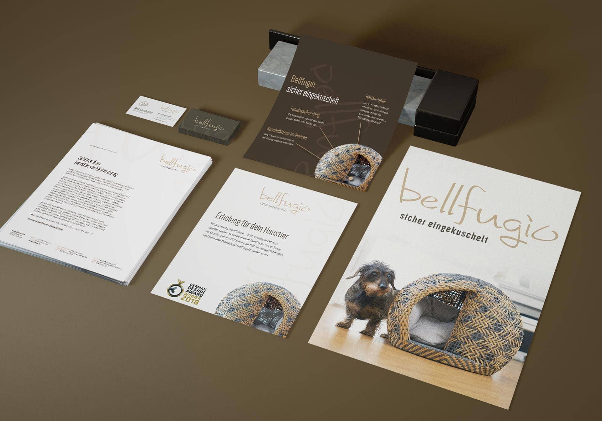 bellfugio Corporate Design und Werbemittel Würzburg Agentur