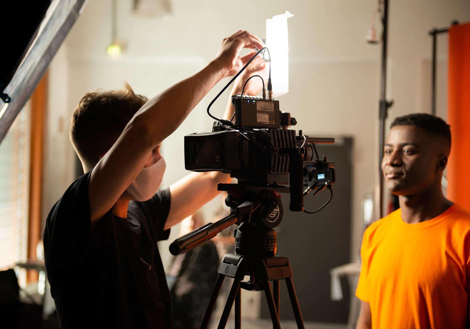 Making-Of Video Kameramann, Schmincktisch, Entwicklung Azubi-Kampagne für Westfalen Group, Webdesign, Videoclips, Social-Media, Werbung