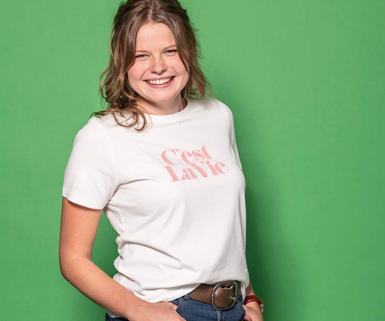 Porträt Nathalie Entwicklung Azubi-Kampagne für Westfalen Group, Webdesign, Videoclips, Social-Media, Werbung
