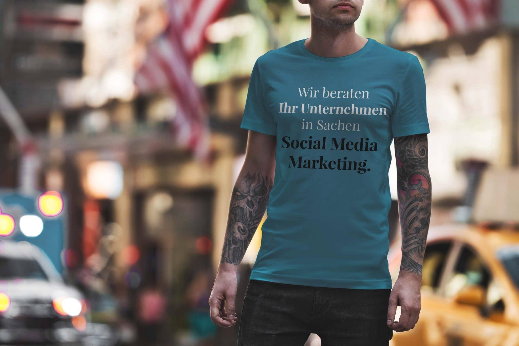 Wir beraten Ihr Unternehmen in Sachen Social Media Marketing.